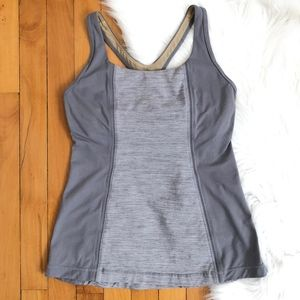 Lululemon Get Fit Tank in Heathered Gray {C}